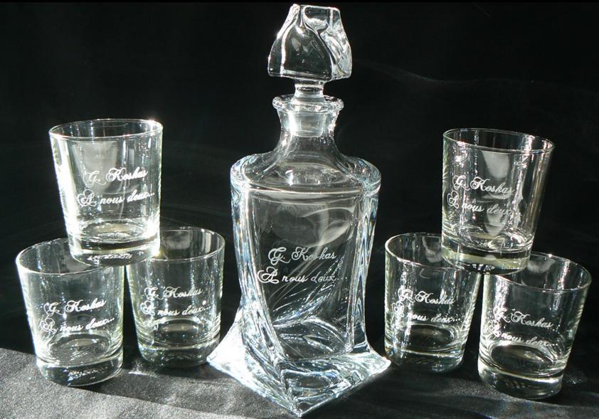 verre whisky grav cadeau verres grav s whisky. Black Bedroom Furniture Sets. Home Design Ideas